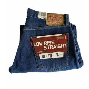 Levis 529 Low Rise Straight 31x34 Blue Jeans Denim